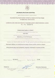 sertifikatas1 maza kokybe