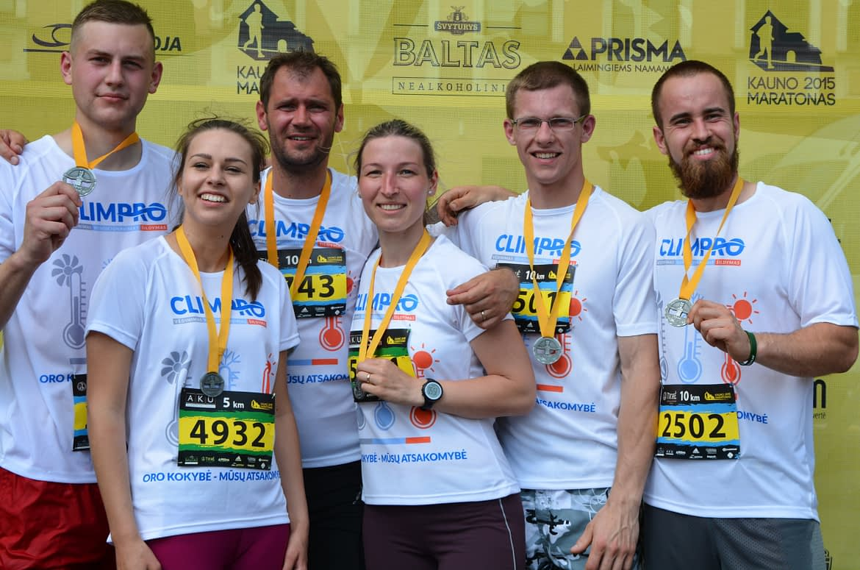 CLIMPRO įveikė Kauno maratoną 2015